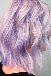 light purple hair tones