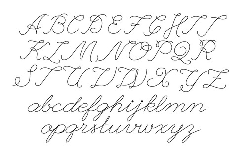 1000+ images about Cursive/manuscript on Pinterest