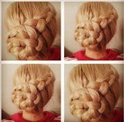 braid updo easy