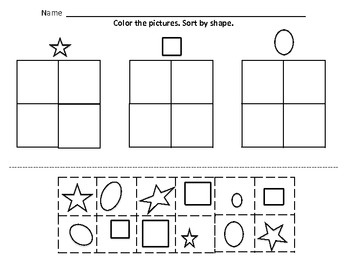 Kindergarten math, Sorting and Kindergarten on Pinterest