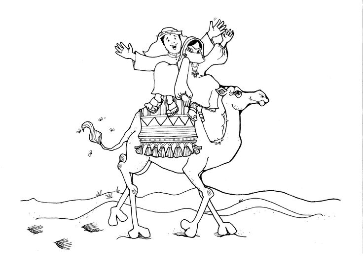 Egypt Camel Drawing