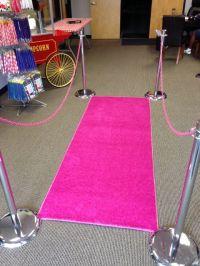 Hot Pink Carpet Runner Party  Floor Matttroy