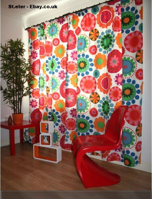 Curtains made from Ikea fabric Ebay  crafting space  Pinterest  Ikea fabric Fabrics and
