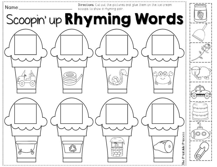 Rhyming words, Summer themes and Words on Pinterest