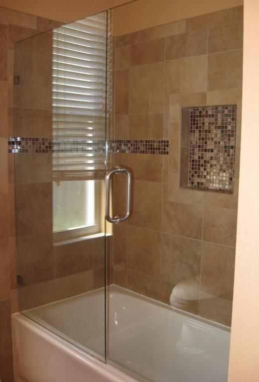 Frameless Glass Shower Door With Tub Needs Fixed