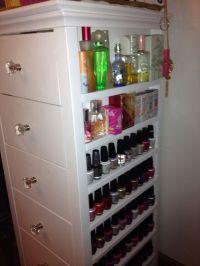 Makeup, nail polish and perfume storage in one | Mine ...
