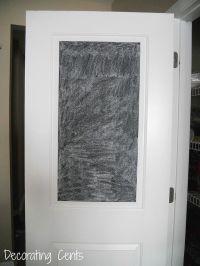 1000+ ideas about Chalkboard Pantry Doors on Pinterest ...