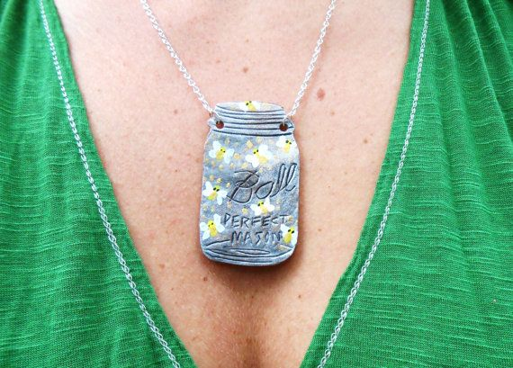 plastic monogram necklace
