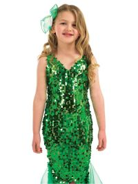 Full mermaids costume....better for kids