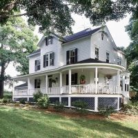 Porches, Wrap around porches and Victorian on Pinterest