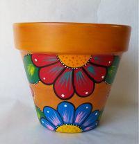 25+ unique Painted flower pots ideas on Pinterest | Paint ...