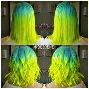 ideas neon hair