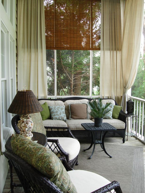 1000 ideas about Screened Porch Decorating on Pinterest  Screened Porches Screened In Porch