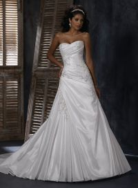 25+ best ideas about Taffeta Wedding Dresses on Pinterest ...