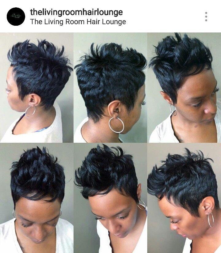 25 Best Ideas About Short Black Hairstyles On Pinterest Black