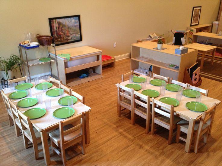 Montessori Toddler Classroom Table Setting Palencia