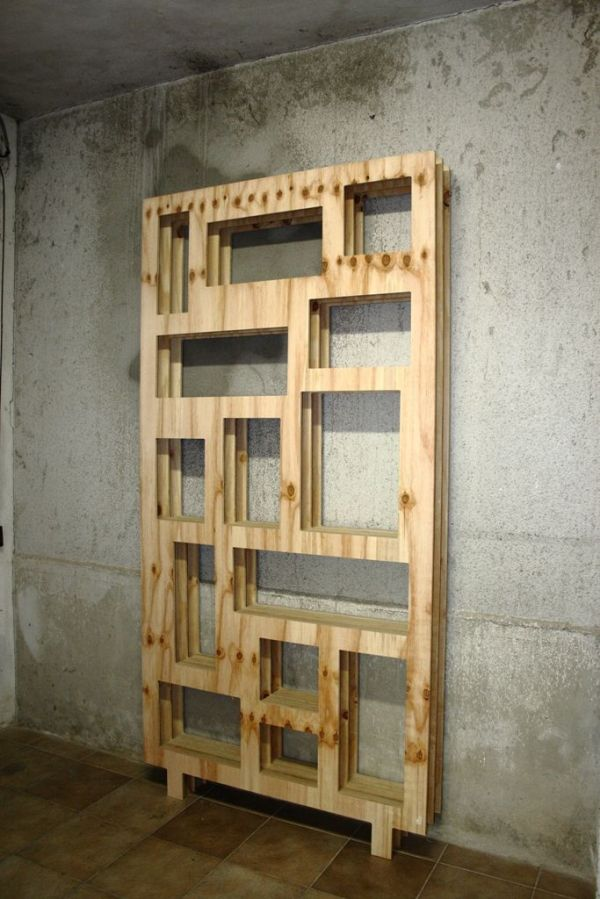 25 best ideas about Plywood Bookcase on Pinterest