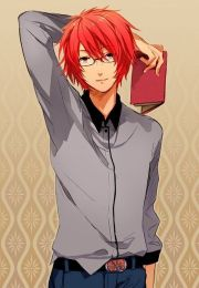anime boy with red hair - google