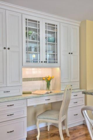 country shelves for kitchen stainless steel islands a built-in desk hutch combo area. photo - musumeci ...