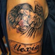 1000 ideas angel tattoo