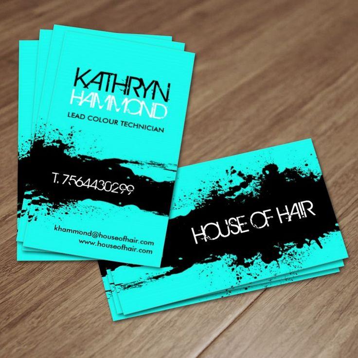 Salon Business Cards  Salon business