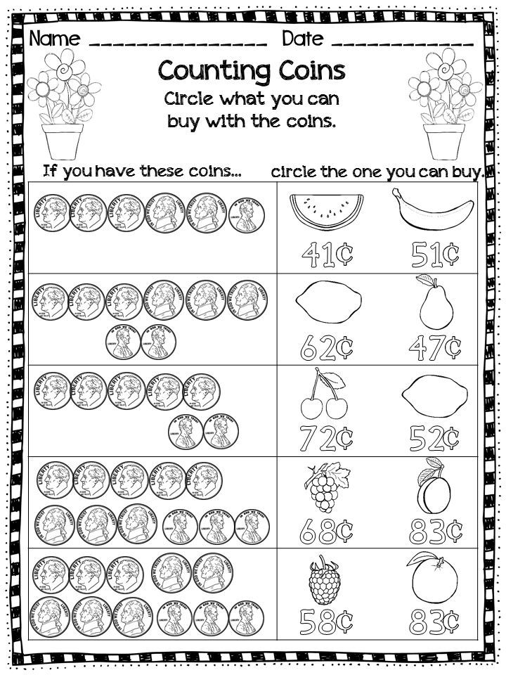 25+ best ideas about Counting coins worksheets on