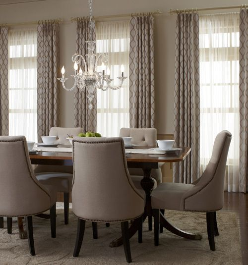 Dining Room Curtains Pottery Barn