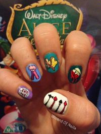 1000+ images about Disney nails on Pinterest | Nail Decals ...