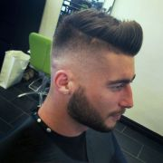 high fade quiff barbershops