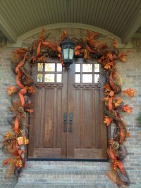 Autumn Door Garlands & Fall Wreath Fall Wreaths Autumn ...