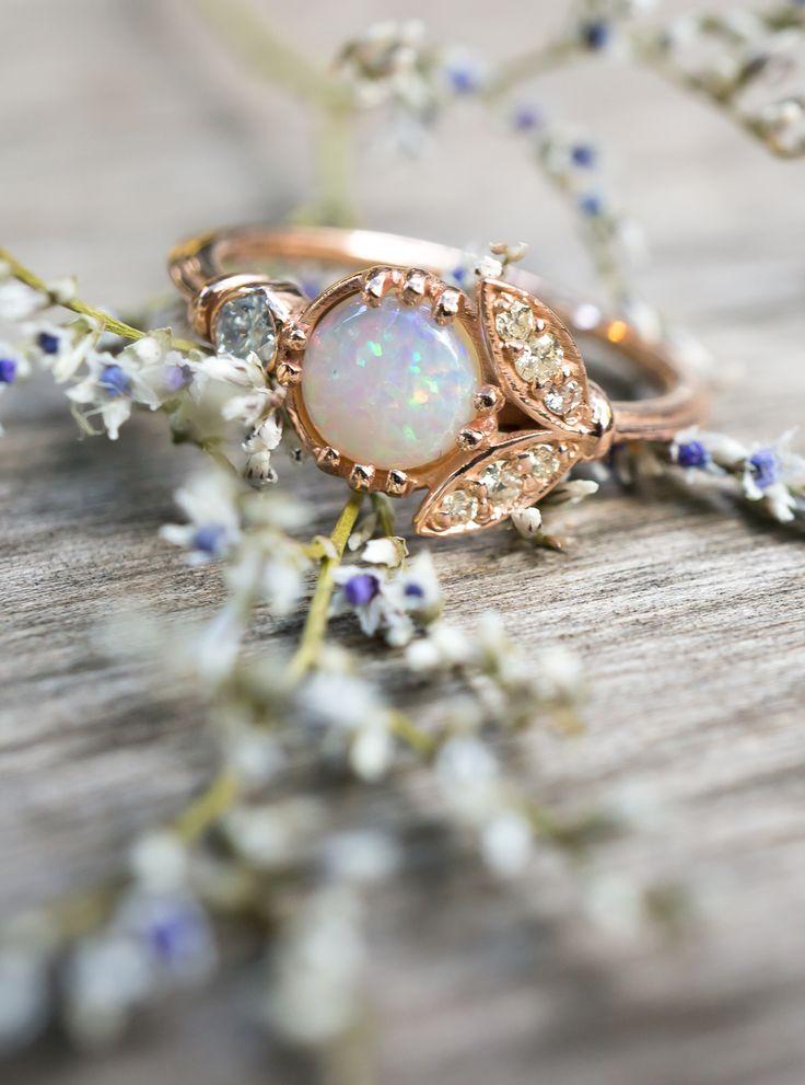 17 Best Ideas About Vintage Opal Rings On Pinterest Opal