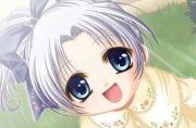anime girl with baby make