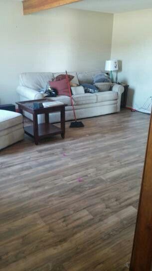 laminate floors in kitchen delta talbott faucet trafficmaster lakeshore pecan | bedroom pinterest pecans