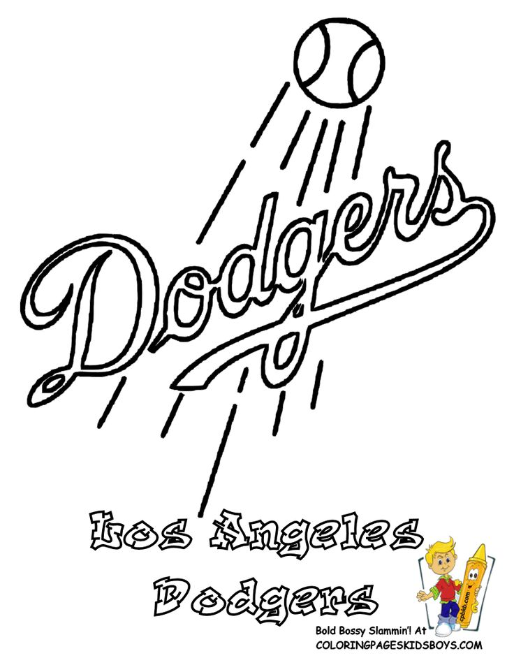 29 Best Brawny Baseball Coloring Pages Images