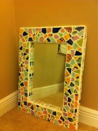 mosaics mirror frame great gift diy | Things I made ...