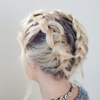 17 Best ideas about Braiding Short Hair on Pinterest