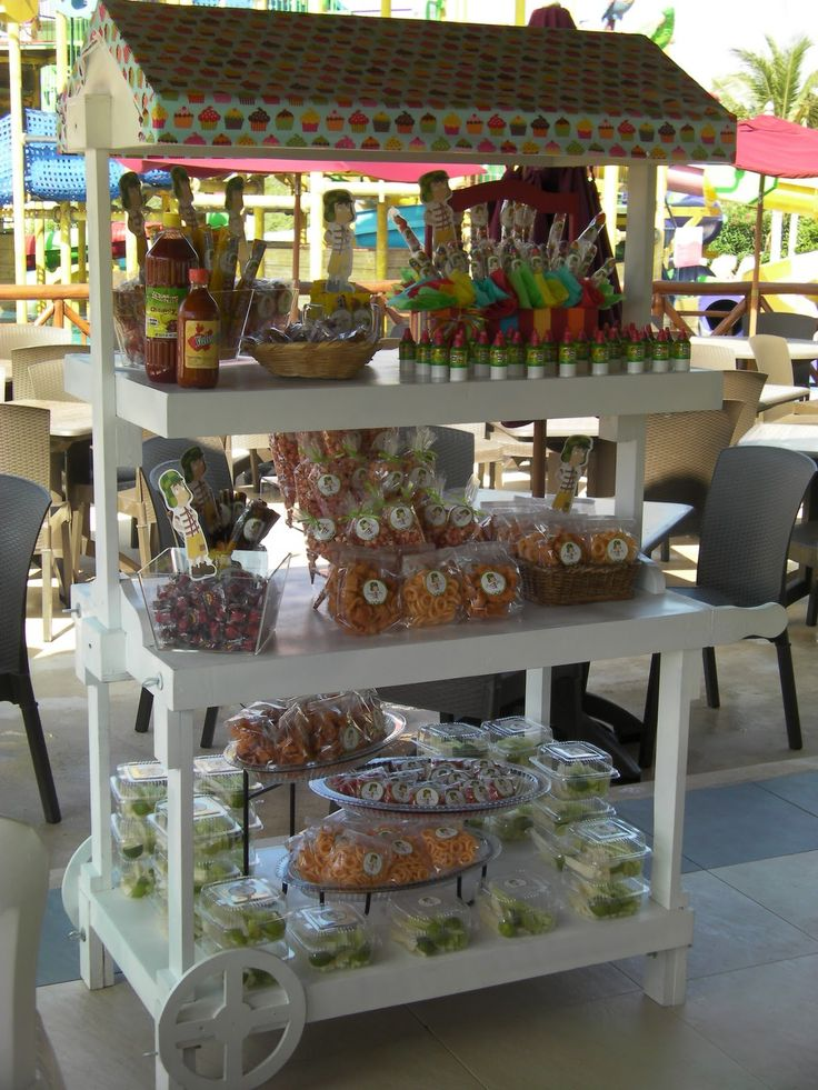 Party Boutique Cancn Mesa de dulces con el tema del chavo del 8  Mari Lopez  Pinterest  Wedding Beaches and Destinations