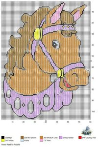17 Best images about Horses in plastic canvas on Pinterest ...