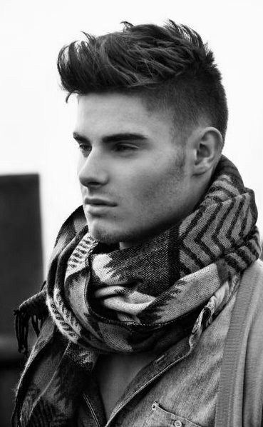 Great #Men's Medium Length #HairStyle! I Usually Don't Like Men's