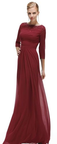 25+ best ideas about Formal Dresses With Sleeves on