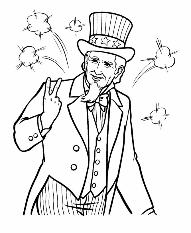 68 best images about 4th of July to Color on Pinterest