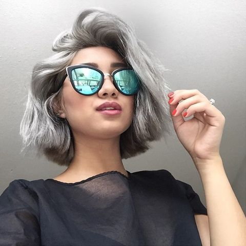25 best ideas about short silver hair on pinterest gray hair long pixie hairstyles and short