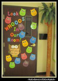 10 Best ideas about Owl Door Decorations on Pinterest ...