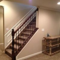 Open up wall on stairs in basement | Home Construction ...