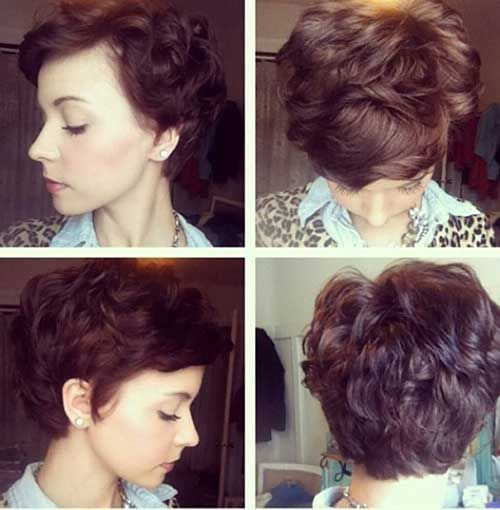 Short Hairstyles For Thick Hair And Round Faces Page 1
