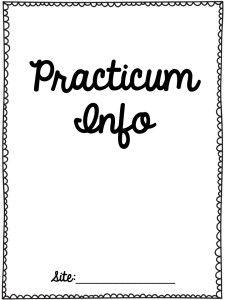 Speechy Musings: Practicum Organizational Freebie. Pinned