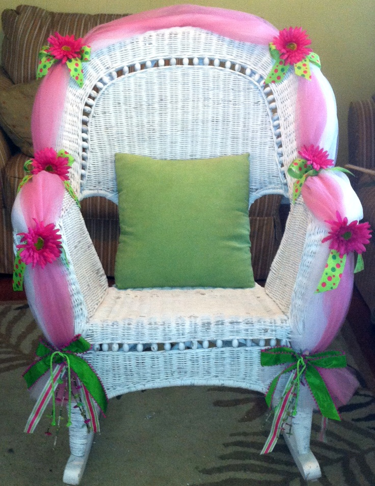 baby shower chair for the mothertobe  party ideas