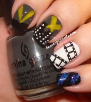hollywood nails nail design