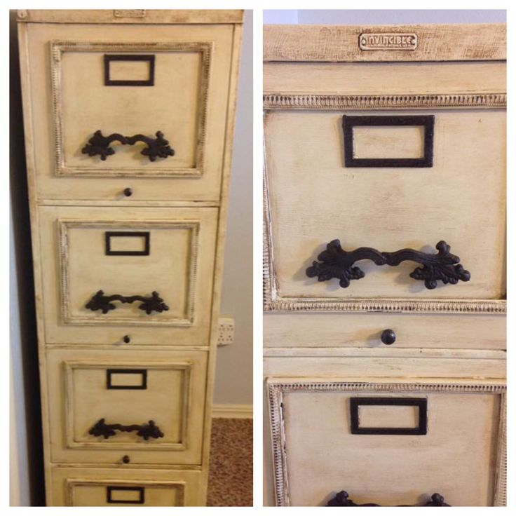 1000+ ideas about Painted File Cabinets on Pinterest