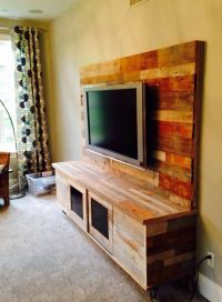 1000+ ideas about Reclaimed Wood Tv Stand on Pinterest ...
